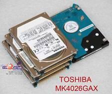 "40 GB 2,5"" 6,35cm IDE PATA HDD FESTPLATTE TOSHIBA MK4026GAX HDD2193 DEFEKT #K"