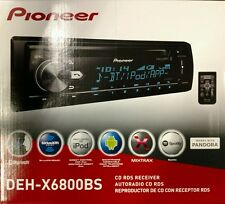 Pioneer DEH-X6800BS CD RDS Receiver AUX/USB/BT/SiriusXM