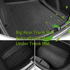 Trunk Cargo / Before Cargo / After Under Cargo TPE Durable Mat For Tesla Model 3