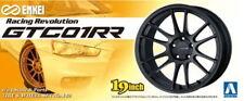 Aoshima Models 1/24 19inch Enkei GTC01RR Wheels & Tyres Set (4 Wheels + 4 Tyres)