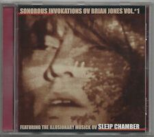 CD SLEEP CHAMBER - Sonorous Invokations Ov Brian Jones Vol. #1  1998