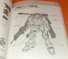 DRAWING ROBOTS book from Japan manga animation mecha powered suites #0772
