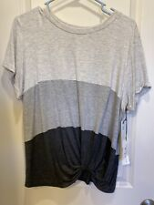 Nine Britton Levie Knot Front Knit Top XL Womens New Tags Stitch Fix Exclusive!