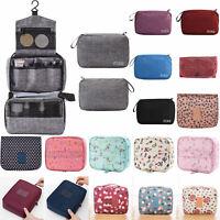 Roll Up Travel Bag Cosmetic Portable Case Wash Toiletry Makeup Handbag Organiser