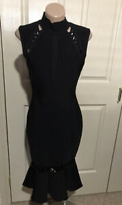 Women's *~*BLESSED ARE THE MEEK*~*  Stunning Black Dress Size 10