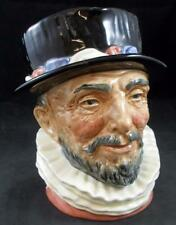 """Royal Doulton """"Beefeater"""" D6206Lg Character Toby Jug Great Condition"""