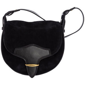 Isabel Marant crossbody bags women PP032021A012M01BK Black suede lined interior