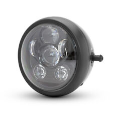 "6"" LED Projector Motorbike Headlight for Cafe Racer & Streetfighter - 6 LIGHT"