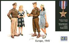 MASTER Box 1/35 EUROPA 1945 - 2 GI Joes Con FEMMINE # 3514