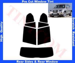 BMW X3 F25 5D 2010-... Pre-Cut Window Tint 5%-50% Rear Window & Rear Sides