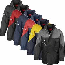 Result Mens Hiking Waterproof Insulated Padded Quilted Hood Trek Coat Jacket