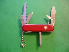 "NTSA SWISS ARMY WENGER MULTIFUNCTION POCKET KNIFE ""SERRATED BACKPACKER"""