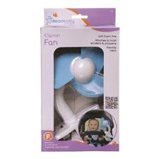 DREAM BABY CLIP ON STROLLER FAN BLUE