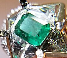 .80 Ct NATURAL COLOMBIAN EMERALD LOOSE STONE GEMSTONE