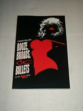 Dark Horse Comics Sin City Boooze, Broads, & Bullets Tpb Paperback Frank Miller