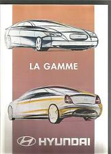 Catalogue brochure Katalog Prospekt Ford HYUNDAI GAMME Année 199610 PAGES