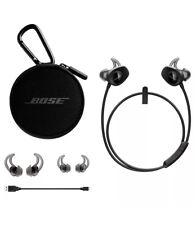 BOSE SoundSport Earbuds Wireless Bluetooth Black Factory Renewed 1-Year Warranty