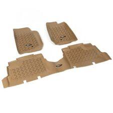 Fußmatten Fußschalen Set 3-teilig braun Jeep Wrangler JK 07-18 4-Türer 13987.04