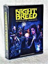 Nightbreed (Blu-ray, 2014 LIMITED EDITION 3-Disc) Craig Sheffer David Cronenberg