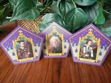 Harry Potter Chocolate Frog Cards - Garrick, Jocunda, and Devlin