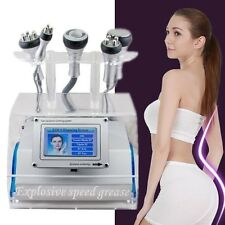 5 in 1 Cavitation Vacuum Bipolar RF Slimming Machine Dissolve Fat Wrinkle