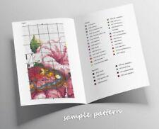Counted Cross Stitch Pattern Embroidery Chart PDF Chamomile tea