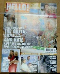 Hello! magazine #1691 21 Jun 2021 Britains leading ladies The Queen Camilla Kate
