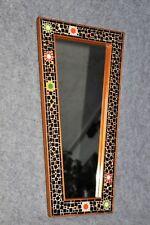 mid century Wandspiegel Glasmosaik design vintage 50th style rockabilly