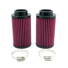 For Yamaha Banshee YFZ350 87-02 Reusable Air Intake Filter Cleaner 2 Pcs