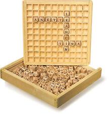 Wörter legen Holz Lernspiel Buchstaben Lernen ABC Kinder