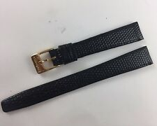 New Original Burberry's of London  Black Watch Band 14 mm
