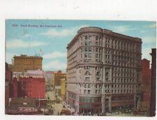 Flood Building San Francisco 1911 Postcard Usa 511a