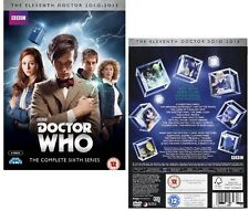 DR WHO 2011 Series 6 - Doctor Matt SMITH, Amy Pond + Rory Season - NEW  DVD UK