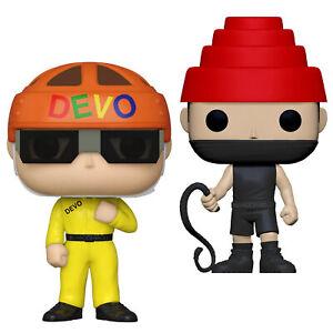 Devo Collectible 2021 Handpicked Funko POP Rocks Satisfaction & Whip It Figures
