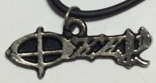 OZZYy OSBbOUuRNE PENDANT NECKLACE metal  rock n roll heavy hard thrash