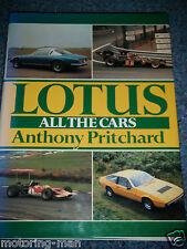 Lotus F1 Colin Chapman siete deportes Ford Lotus Cortina Elan Esprit Eclat Europa