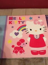 HELLO KITTY SCRAPBOOK SET WITH STICKERS