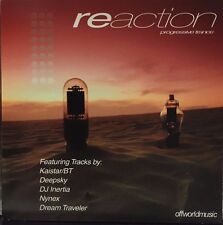 REACTION - PROGRESSIVE TRANCE - 8 TRACK MUSIC CD - LIKE NEW - G412