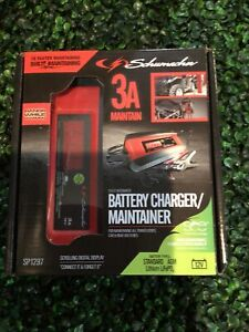 Schumacher Fully Automatic Battery Charger, Maintainer - 3A / 12V