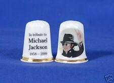 Michael Jackson Tribute, Exclusive  China Thimble B/02