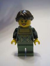Lego Minifigure Female Green Corset Winter Village Market Creator 10235
