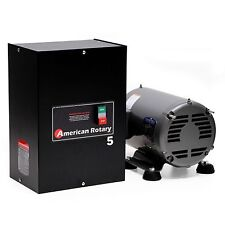 American Rotary Phase Converter AR5 5 HP 1 to 3 Three PH Heavy Duty HD CNC  USA