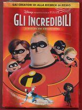 GLI INCREDIBILI DISNEY-PYXAR - 2 DVD DA COLLEZIONE slipcase CARTONATO