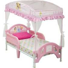 Delta Disney Princess Toddler Bed with Canopy, new