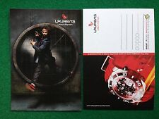 6196 Advertising Pubblicita' Cartolina Card 15x10 cm - LAURENS OROLOGI WATCH