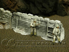 """""""RETIRED"""" Build-a-Rama 1:32 Hand Painted High Trench Wall -Winter"""