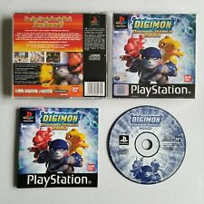 Digimon World 2003 PS1 PSOne PS2 BLACK LABEL Complete PlayStation One PALRARE ⭐