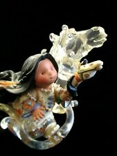 Rare 1999 Vintage Friends Of The Feather Spirit of Strength Figurine Enesco