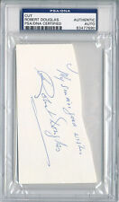 PSA/DNA SIGNED CUT SIGNATURE ROBERT DOUGLAS  7690