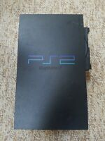 Sony PlayStation 2 PS2 Fat Black Console - Parts Only or repair- Scph-39001